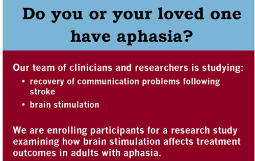 aphasia research